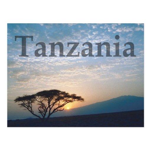 Tanzania Post Cards