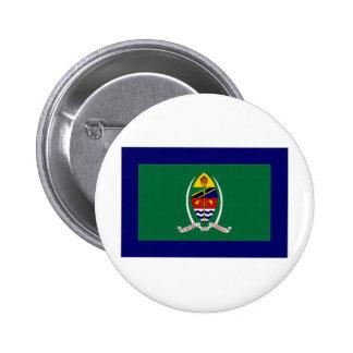 Tanzania President Flag Pinback Button