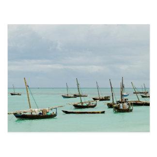 Tanzania, Zanzibar, Nungwi Postcard
