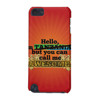 Tanzanian, but call me Awesome iPod Touch 5G Case