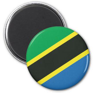 Tanzanian flag magnet