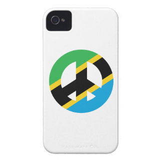 Tanzanian Peace Symbol Case-Mate iPhone 4 Cases