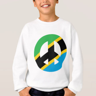 Tanzanian Peace Symbol Sweatshirt