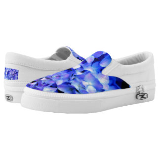 Tanzanite  Hydrangeas Slip-On Shoes