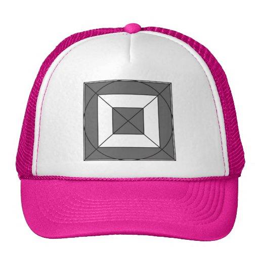 Tao Meow - Fancy style text. Trucker Hats