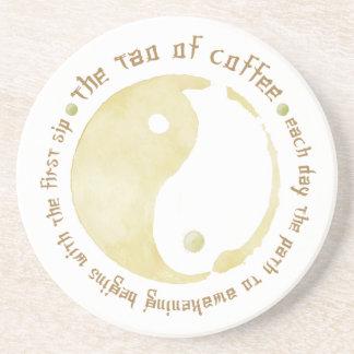 tao of coffee mug beverage coasters