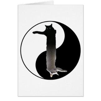 Tao of Longcat Greeting Card