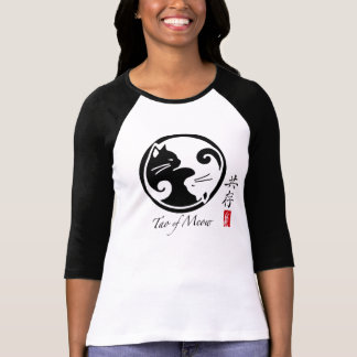 Tao of Meow Women's Raglan T-Shirt