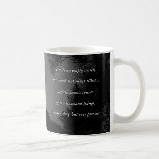Tao Te Ching No.3 /Mug Coffee Mug