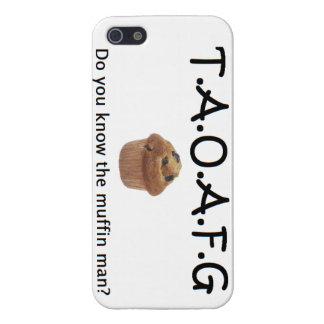 TAOAFG Muffin Man phone Case Cover For iPhone 5/5S