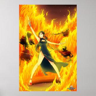 TAOFEWA - Gabija Waves of Fire Poster