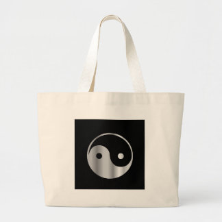 Taoism- Daoism- Ying and Yang religious icon Canvas Bags