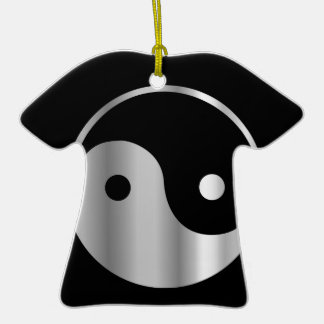 Taoism- Daoism- Ying and Yang religious icon Christmas Ornaments