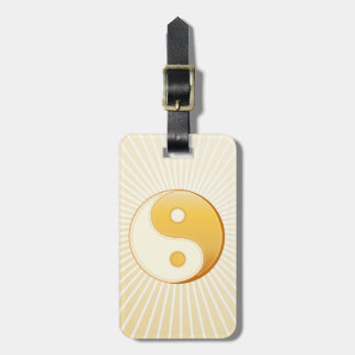 Taoism Symbol Luggage Tag
