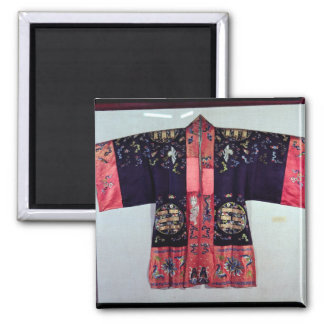 Taoist Robe With Tai Chi Yin and Yang Square Magnet