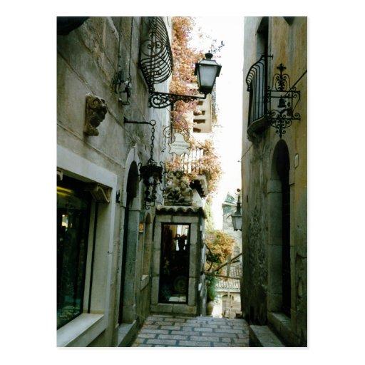 Taormina Postcards