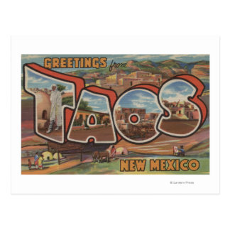 Taos, New MexicoLarge Letter ScenesTaos, NM 2 Postcard