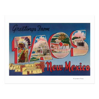 Taos, New MexicoLarge Letter ScenesTaos, NM Postcard
