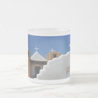 Taos Pueblo Church frosted Coffee Mug