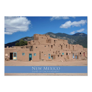 Taos Pueblo, New Mexico Card