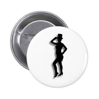 Tap Dance 6 Cm Round Badge