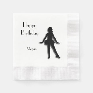 Tap Dancer Happy Birthday Paper Napkin
