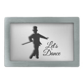 Tap Dancer Let's Dance Belt Buckle