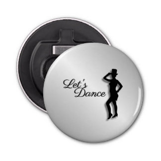 Tap Dancer Let's Dance Bottle Opener