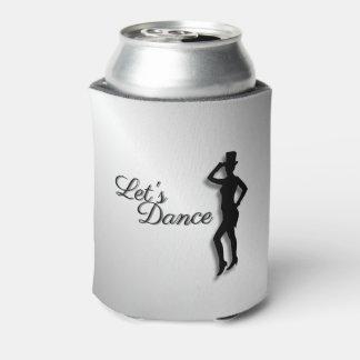 Tap Dancer Let's Dance Can Cooler