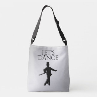 Tap Dancer Let's Dance Crossbody Bag
