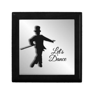 Tap Dancer Let's Dance Gift Box