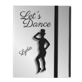 Tap Dancer Let's Dance iPad Case