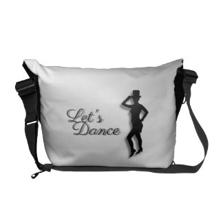 Tap Dancer Let's Dance Messenger Bag