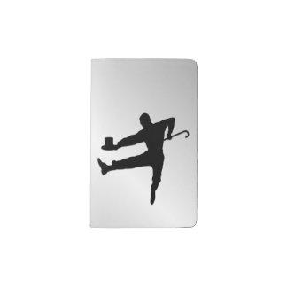 Tap Dancer Pocket Moleskine Notebook
