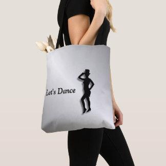 Tap Dancer Tote Bag
