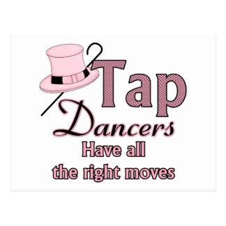 Tap Dancers 2 Post Card
