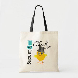 Tap Dancing Chick 5 Canvas Bags