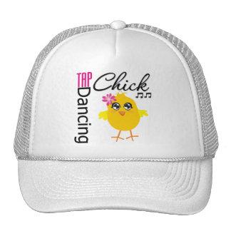 Tap Dancing Chick Trucker Hat