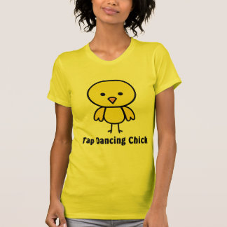 Tap Dancing Chick Tshirts