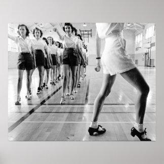 Tap Dancing Class 1942 Poster