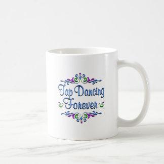 Tap Dancing Forever Coffee Mugs