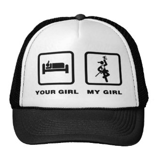 Tap Dancing Mesh Hats