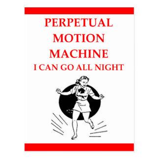 tap dancing postcard