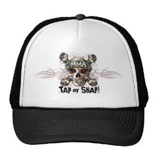 Tap or Snap MMA Skull Gear Cap