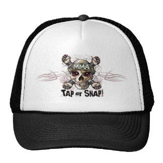 Tap or Snap MMA Skull Gear Mesh Hats