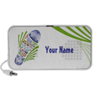 Tap Shoe With Your Name Travel Speaker