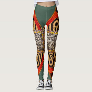 Tapa Butterfly Leggings