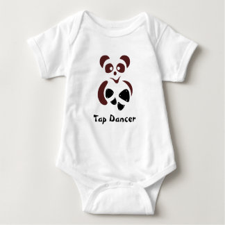Tapanda© the lovely panda bear baby bodysuit