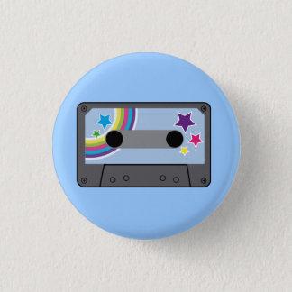 tape 3 cm round badge