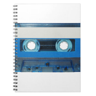Tape cassette transparent background notebook